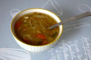 bol de soupe du potager