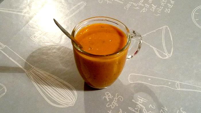 velouté tomates basilic